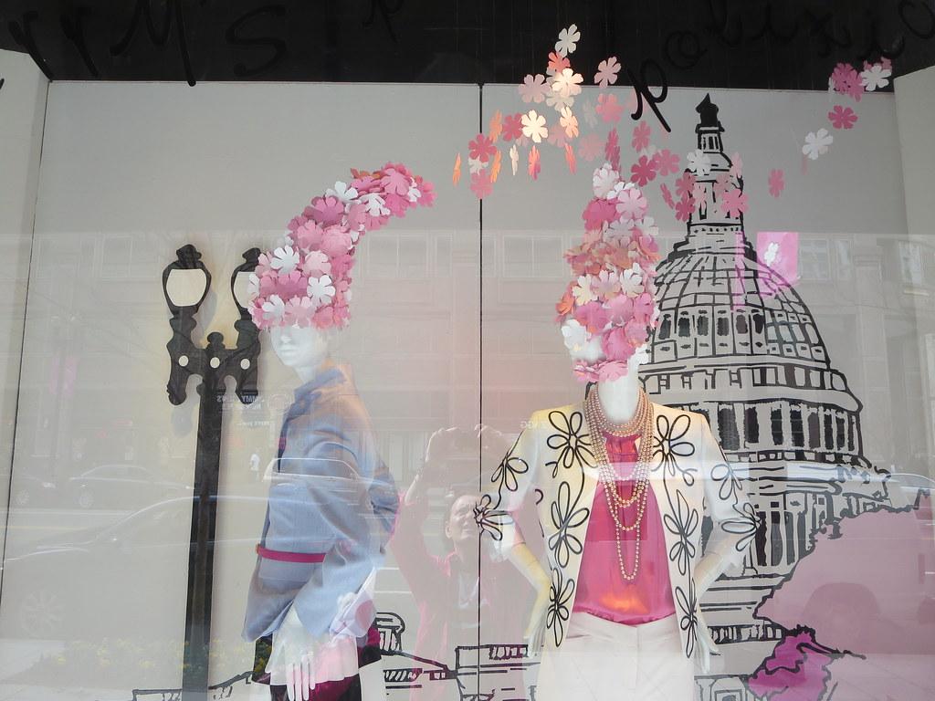 Macy's U S  Capitol building Cherry Blossom Pink theme win