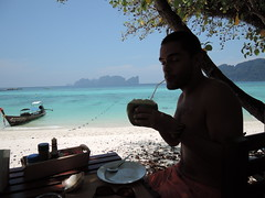 Long Beach coconut, Koh Phi Phi Don, Thailand