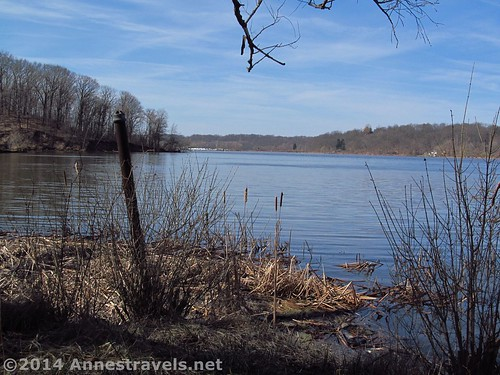 Irondequoit Bay from Abraham Lincoln Park, New York