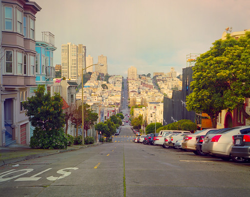 A San Francisco Scene from Telegraph Hill | by Doha Sam