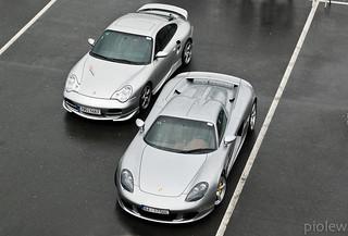 Porsche 911 Turbo (996) & Porsche Carrera GT   by piolew