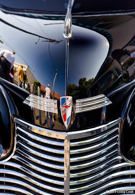 grill of '40 Chevy sedan