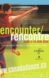 2006 Poster   by canadadancefest