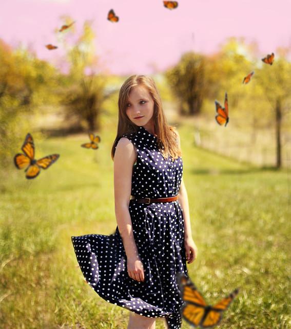 The rare case of butterflies.