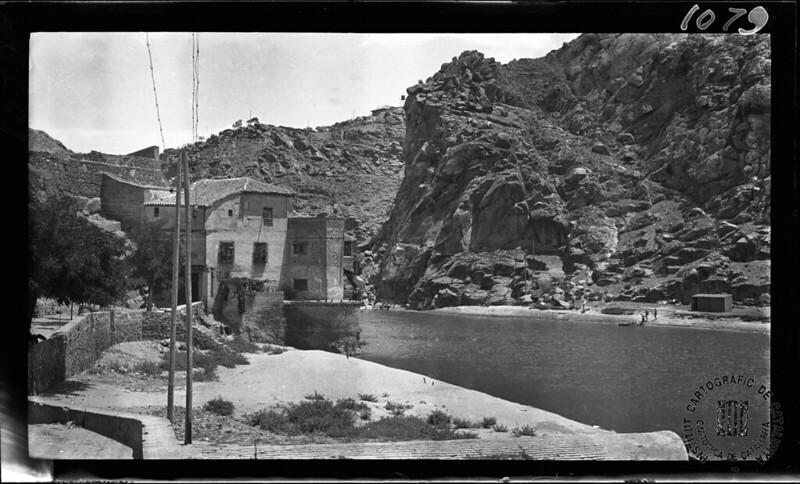 Casa del Diamantista en 1933. Fotografía de Gonzalo de Reparaz Ruiz. © Institut Cartogràfic de Catalunya