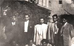في إحدى الاجتماعات - دمشق - 1951