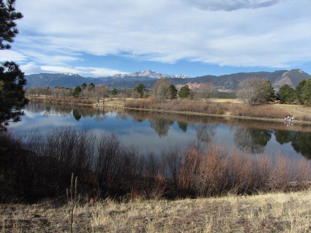 Pikes Peak and Pond