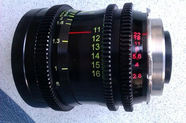 Conversion Tokina 11-16 /2 8 , PL mount , Cine style rotat… | Flickr