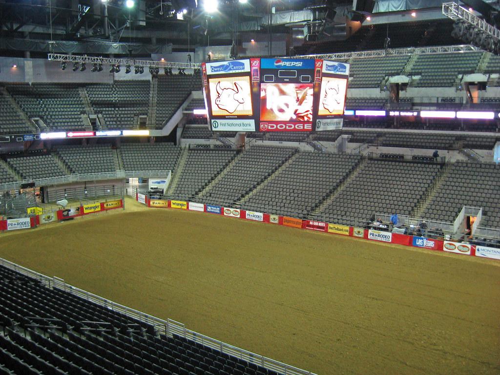 Centurylink Center Omaha >> Rodeo Setup Inside The Centurylink Center Omaha Known As Flickr