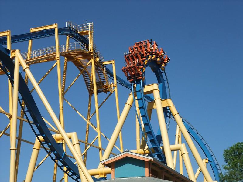 Goliath - Six Flags Fiesta Texas