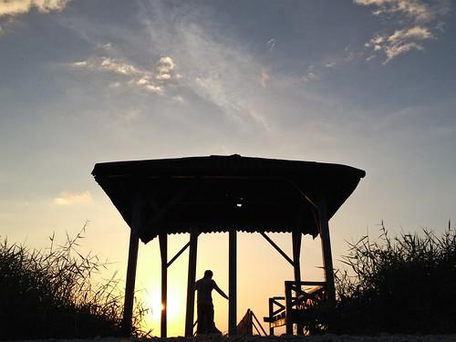 sunset sky apple dawn evening pantai 4s langit iphone matahari petang maghrib rambah terbenam iphoneography