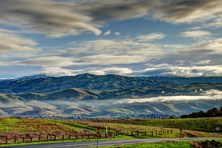 Clouds over Mt Hamilton | by donjd2