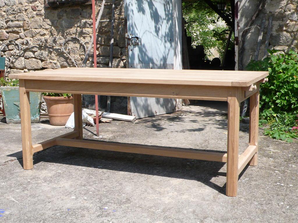 Table de ferme fabrication   Atelier de la Rozeille Ebenisterie D ...
