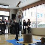 20120116留学生もちつき大会