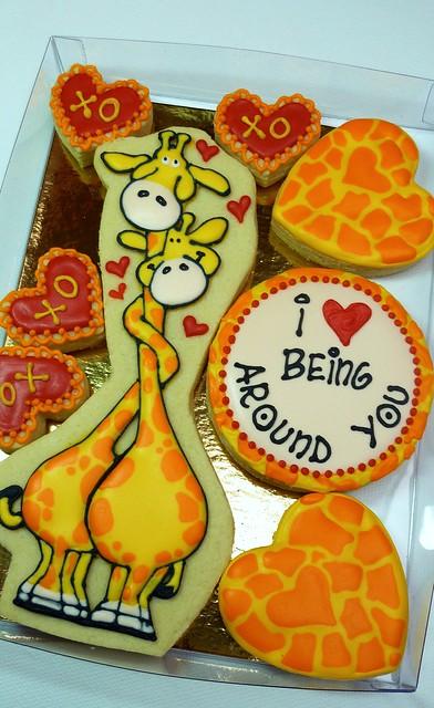 'Love being around you' Valentine Gift box set