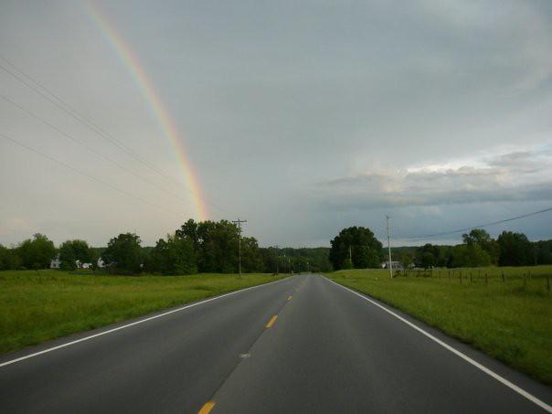 NC 87 headed towards Pittsboro.