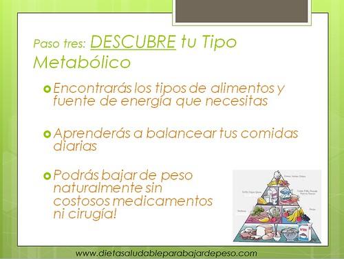 Tip3 para bajar de peso