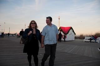 Don and Susan: Walking on Boardwalk | by sfusswork