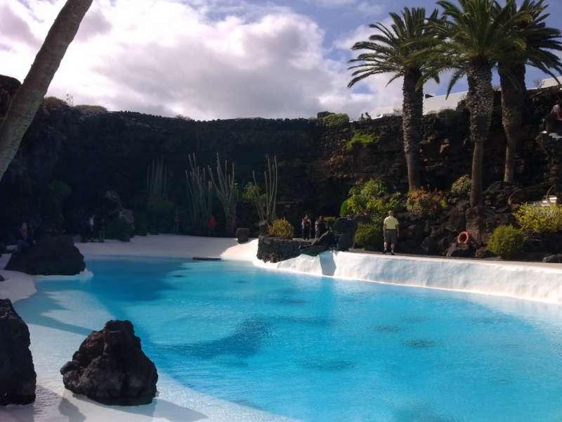 Piscina Jardines Jameos del Agua en Lanzarote 5