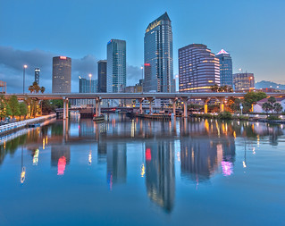 Downtown Tampa from the Platt Street Bridge | by Photomatt28