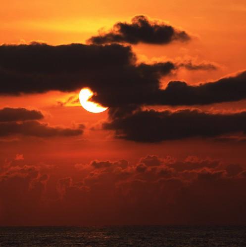 red sky seascape beach nature sunrise pier still interesting sand quiet unitedstates florida vivid calm explore naturalbeauty 95 sunspot atlanticocean cloudscape eastcoast southflorida browardcounty naturesbeauty explored number95 deerfieldbeachflorida deerfieldbeachpier bestposition82~4712