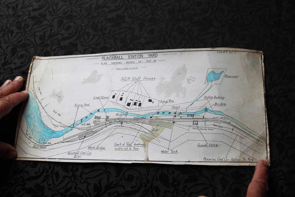 Blackball Station Yard Plan