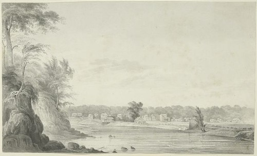 ohio drawing piqua 1830s miamicounty ohioartthrough1865 citylevelgeotagging