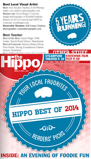Best Visual Artist - Honorable Mention, Hippo Best Of 2014 | by Sid Ceaser Photography