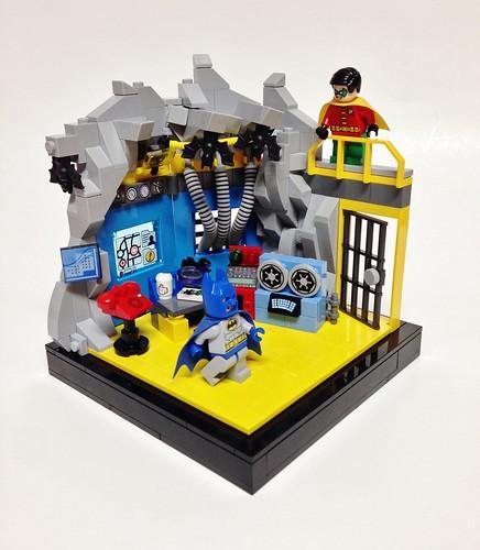 60's Batcave