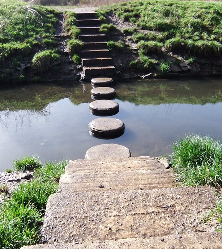 Stepping Stones | by oatsy40