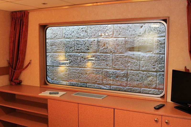 A marée basse, mur de brique .... - Visite du ms Princesse d'Aquitaine, 09 mars 2012, Bordeaux