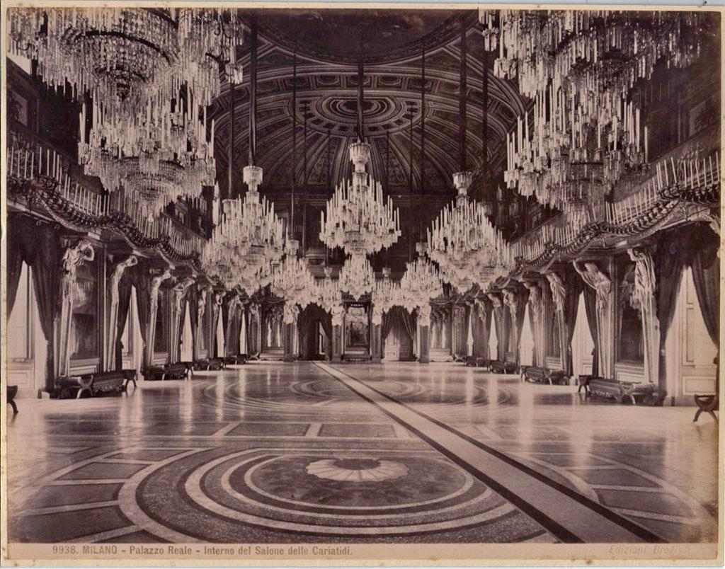 Sala Fine 800.Sala Delle Cariatidi A Palazzo Reale Una Foto Di Giacomo