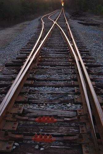 railroad sunset ga georgia switch griffin spaldingcounty
