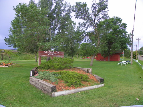 Wibaux Park and Welcome Sign | by J. Stephen Conn