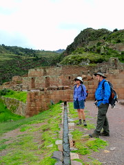 Melanie and Dan taking in the view at Pisac