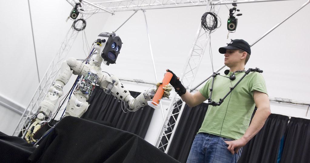 BERT2 demonstrates safe human robot interaction   University of the