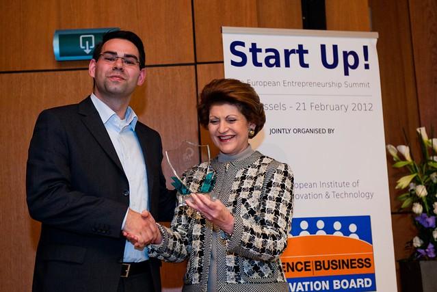 Start Up! The Entrepreneurship Summit, ACES & EIT Awards 2012, 21 February 2012, Brussels