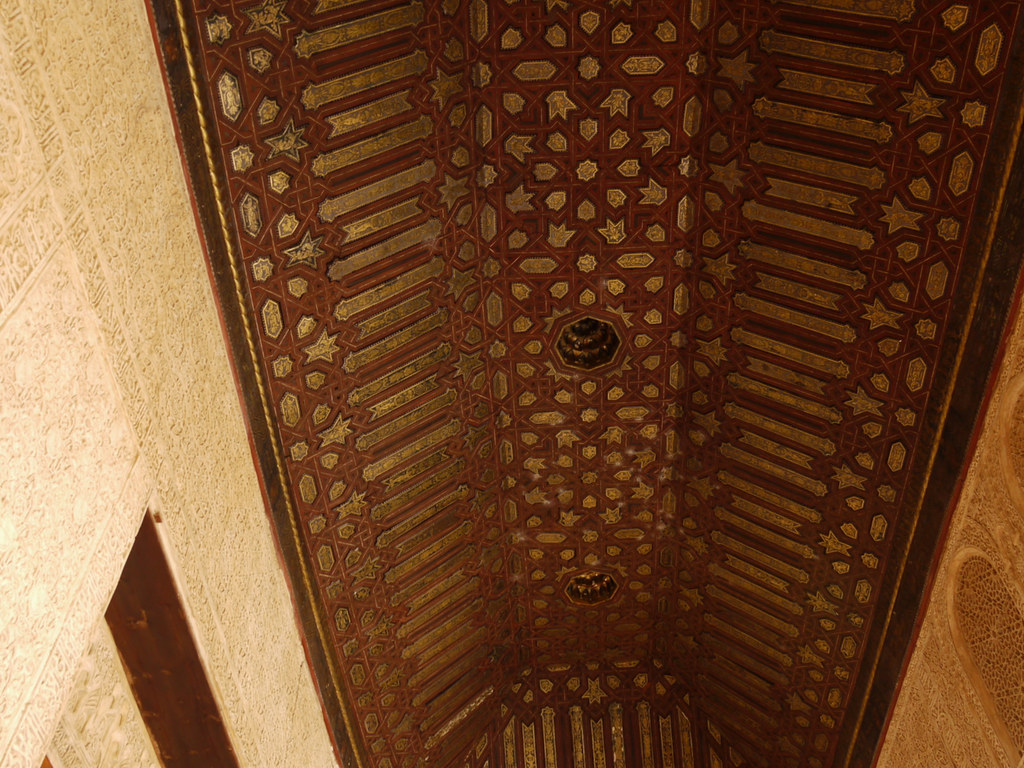 Ceiling Decoration, Alhambra Palace, Granada, Spain | Flickr