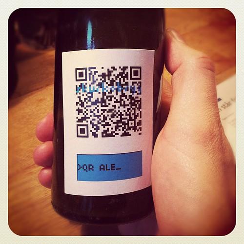QR Ale_ etiket | by Simon Fredslund