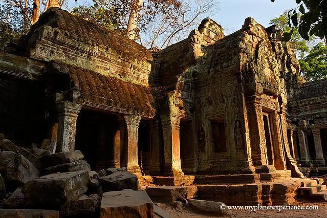 Corridors of Ta Prohm - Angkor, Cambodia