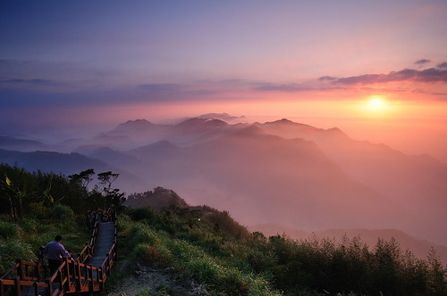 sunset landscape 日落 隙頂