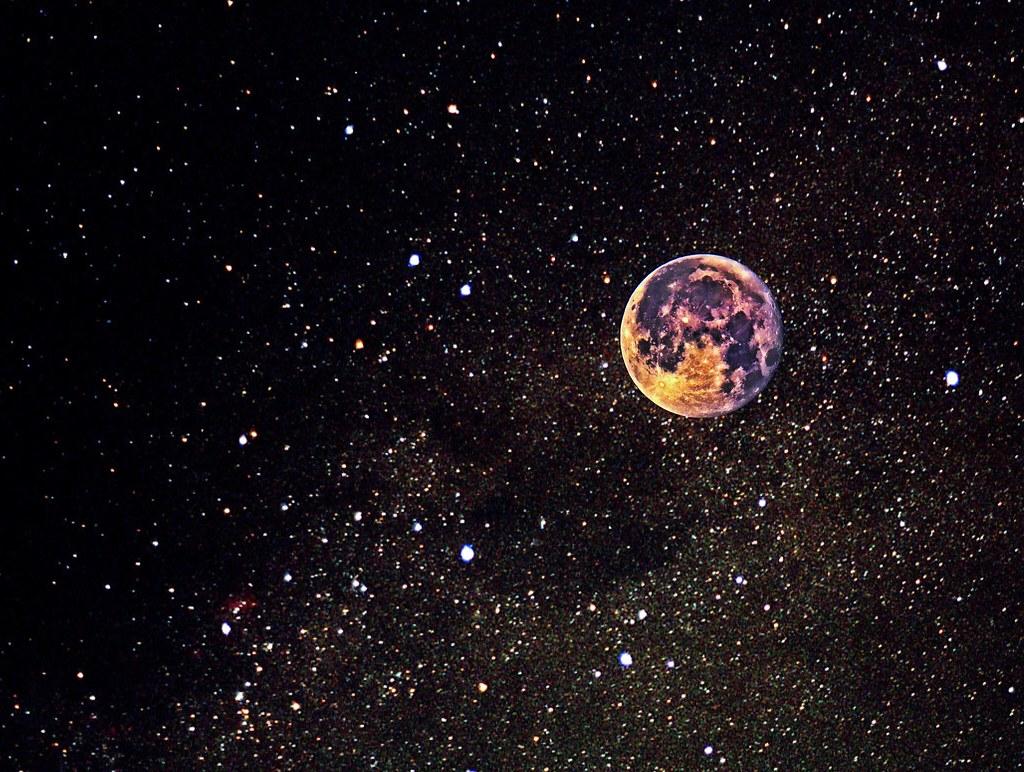 moon and stars - HD1600×1206