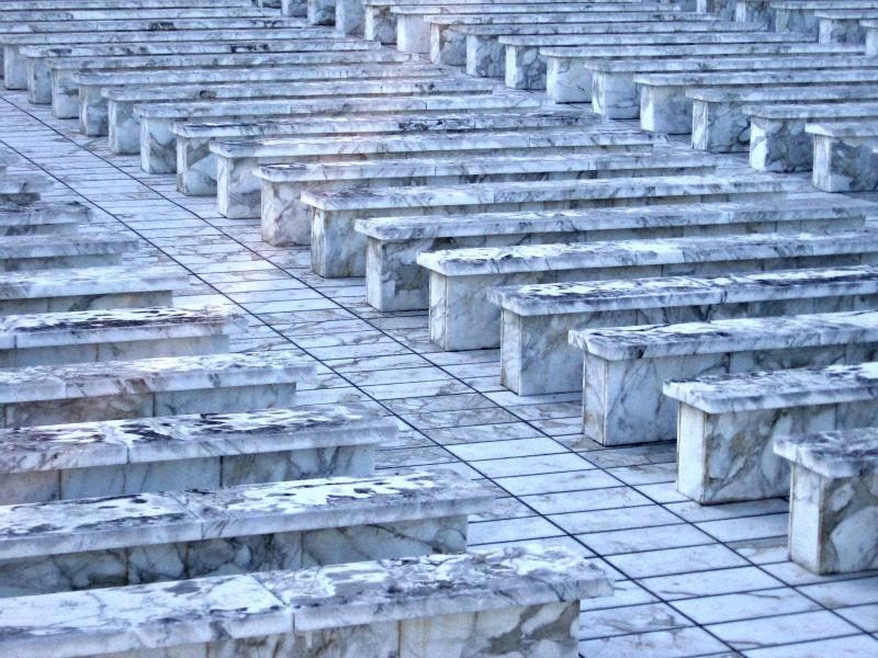 Eur Anfiteatro Sul Terrazzo Del Palazzo Dei Ricevimenti
