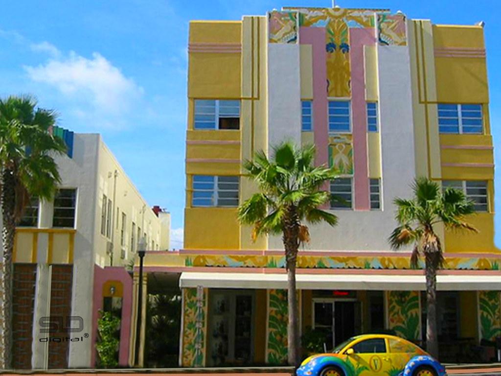 south beach miami art deco district | south beach miami