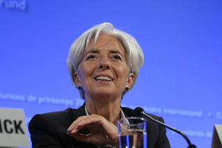 Christine Lagarde Press Briefing   by World Bank Photo Collection