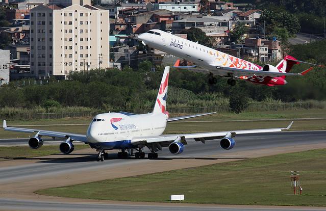 747-400 BRITISH | GRU-SBGR