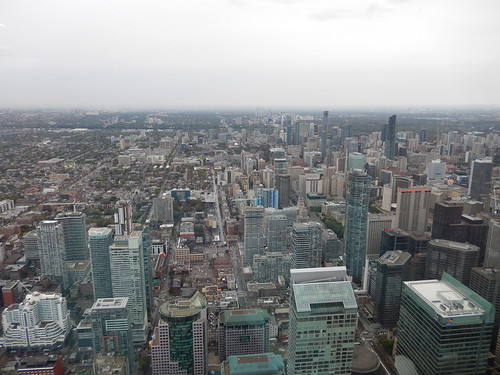 Toronto - vanuit CN tower