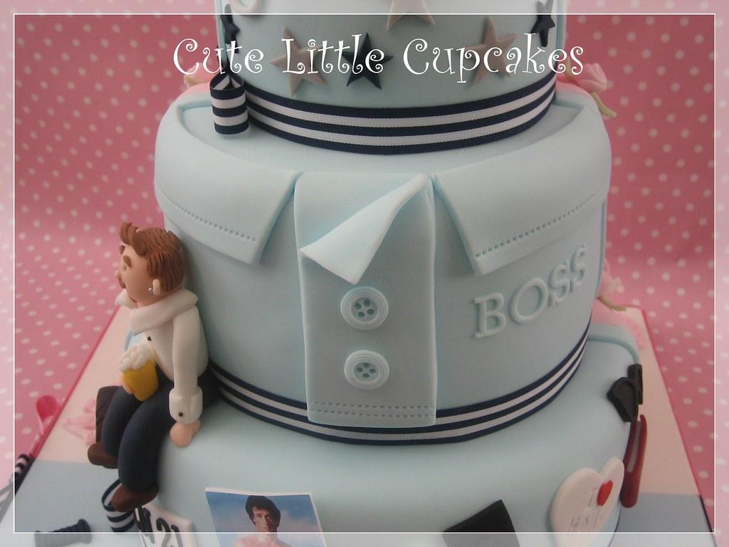 Brilliant Joint 18Th 21St Birthday Cake Heidi Stone Flickr Funny Birthday Cards Online Benoljebrpdamsfinfo