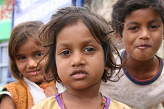 Children living close to Bija Mandal Vidisha