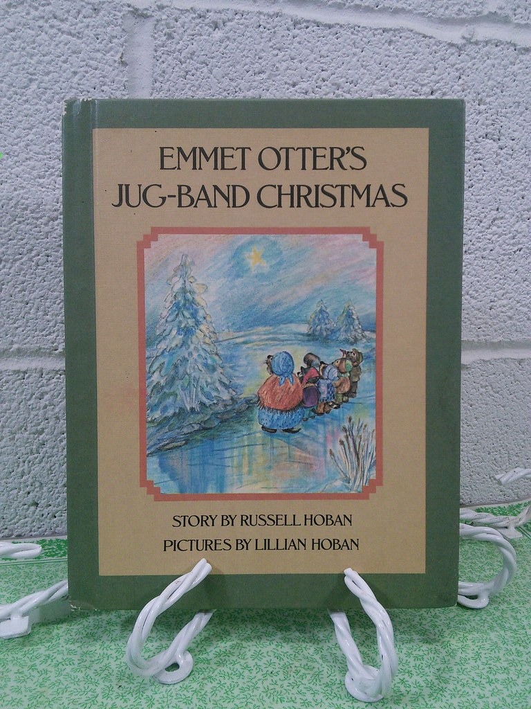Emmet Otters Jug Band Christmas Book.Emmet Otter S Jug Band Christmas Vintage Childrens Book
